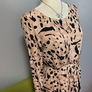 Tart Dresses - Tart Animal Print Long Sleeve Dress C3